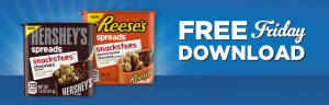 Expired:Free Reese's or Hershey's Spreads Snackers