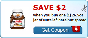 Expired: Nutella Coupon