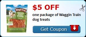Expired:Waggin Train Dog Treats Coupon
