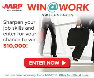 Win @ Work Sweepstakes!