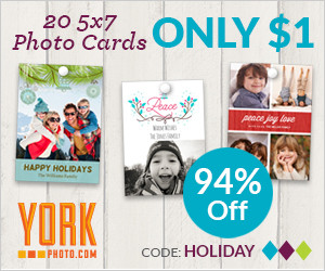 Expired: York Photo Cards Only $1!