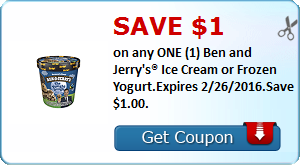 Expired: Ben and Jerry's Ice Cream Coupon