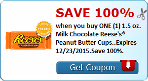 Expired: Free Reese's Peanut Butter Cup