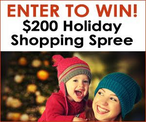 Expired:Holiday Shopping Spree Giveaway