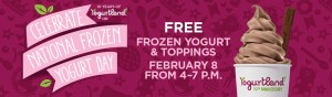 Expired: Free Yogurt at Yogurtland