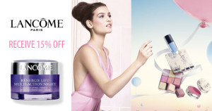 Free Stuff from Lancome Elite Rewards