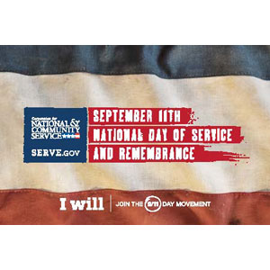 Expired: Free 9/11 Day of Service Stickers