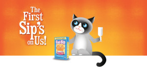 Expired:Free Cat-Sip Sample