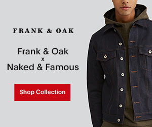 Free Account from Frank & Oak