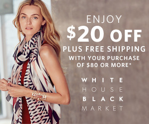 $20 Free from White House Black Market
