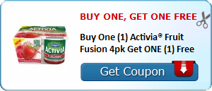 Expired: Free Activia Fruit Fusion Pack