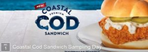 Expired: Free Coastal Cod Sandwich