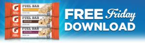 Expired:Free Gatorade Fuel Bar