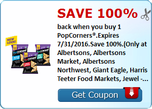 Expired:Free PopCorners at Albertsons