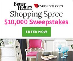 Better Homes & Gardens Shopping Spree!