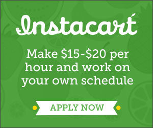 Expired: Become a Shopper or Deliver Groceries with Instacart