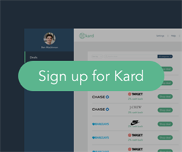 Expired: All Your Credit Card Rewards in One Place with Kard