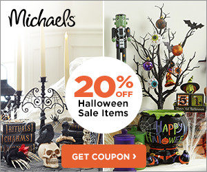 Michael's 20% Off Halloween Coupon
