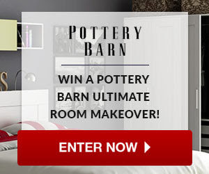 Win a Pottery Barn Ultimate Room Makeover!