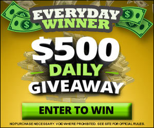 $500 Daily Giveaway!