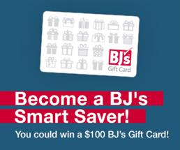 Expired: Become a BJ's Smart Saver, You Could Win $100!