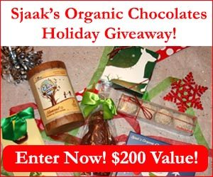 Expired: Sjaak's Organic Chocolates Giveaway