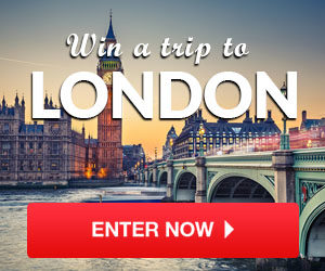 Expired: Win a Trip to London!