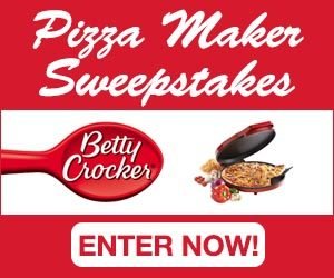 Expired: Betty Crocker Pizza Maker Giveaway