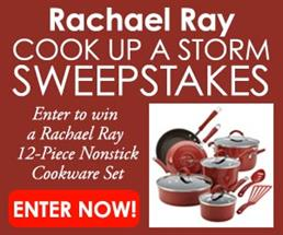 Expired: Rachel Ray Cook Up a Storm Sweepstakes