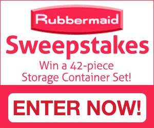 Expired: Rubbermaid Sweepstakes