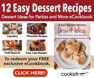 12 Easy Dessert Recipes Free!