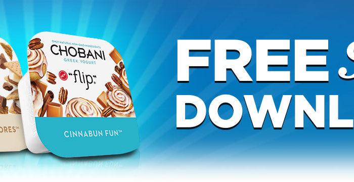 Expired:Free Chobani Flip Yogurt