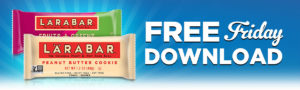 Expired:Free Friday Download! Free Larabar!