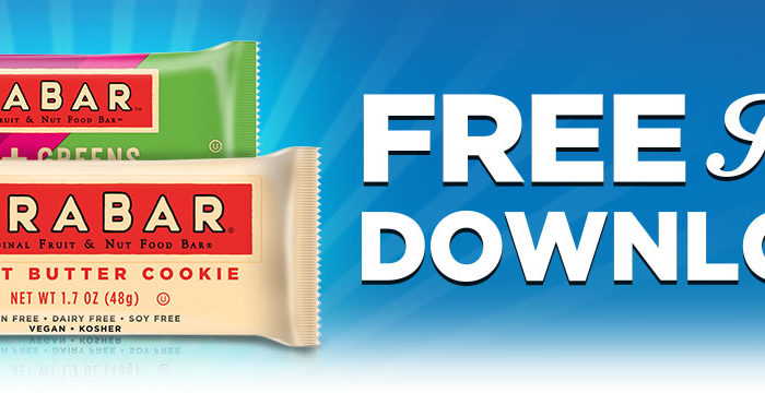 Expired: Free Friday Download! Free Larabar!
