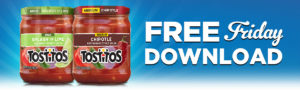 Expired: Free Download Friday! Free Tostitos Salsa
