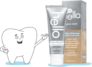 Free Hello Toothpaste