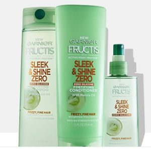 Expired: Free Garnier Fructis Sleek & Shine Zero Sample