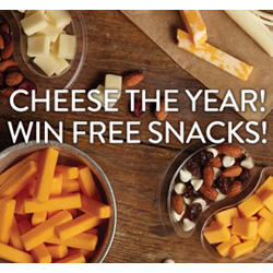 Expired: Win a Year of Free Cheese Snacks