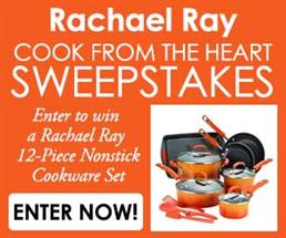 Expired: Rachel Ray Cook from the Heart Sweepstakes