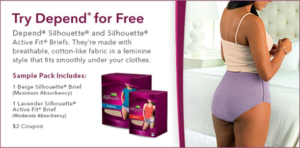 Free Depend Silhouette Sample!