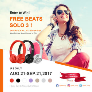 Beats Solo 3 Giveaway!!