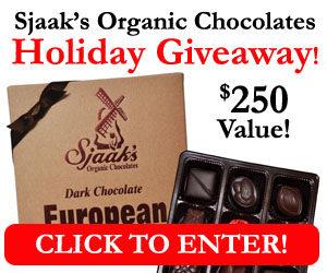 Expired:Sjaak's Organic Chocolates Holiday Giveaway