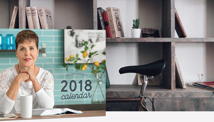 Free Joyce Meyer Ministries 2018 Wall Calendar