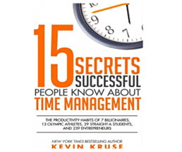 Free 15 Secrets Successful People Know about Time Management
