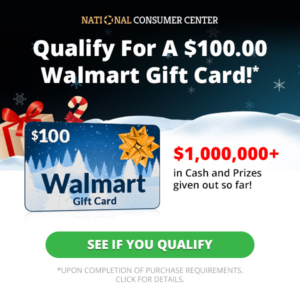 Expired: Win a $100 Walmart Gift Card Plus Daily Giveaways!