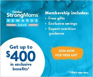 Get $400 in Exclusive Stuff from Similac! Join Now! Get a FREE Gift!