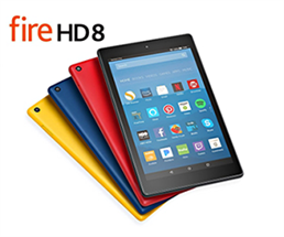 Expired: Win an Amazon Kindle Fire 8 HD!