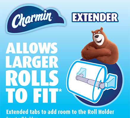 Expired:Free Charmin Roll Extender