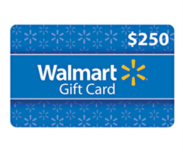 Expired: Win a $250 Walmart Gift Card