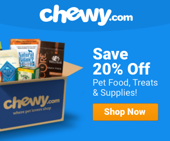 Save Big with Chewy for your Pets!